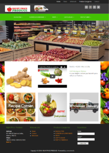 RIGHT PRICE PRODUCE-Landing Page