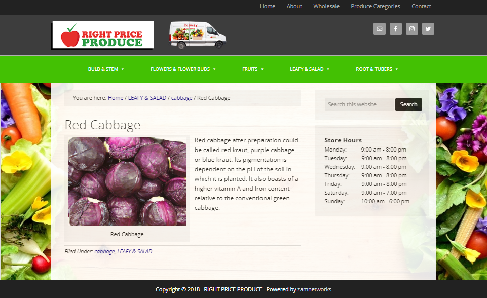 Right Price Produce-Produce Page